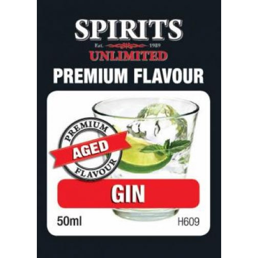 Spirits Unlimited Premium Aged Gin - 50ml
