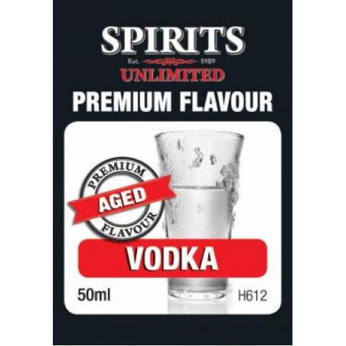 Spirits Unlimited Premium Aged Vodka - 50ml