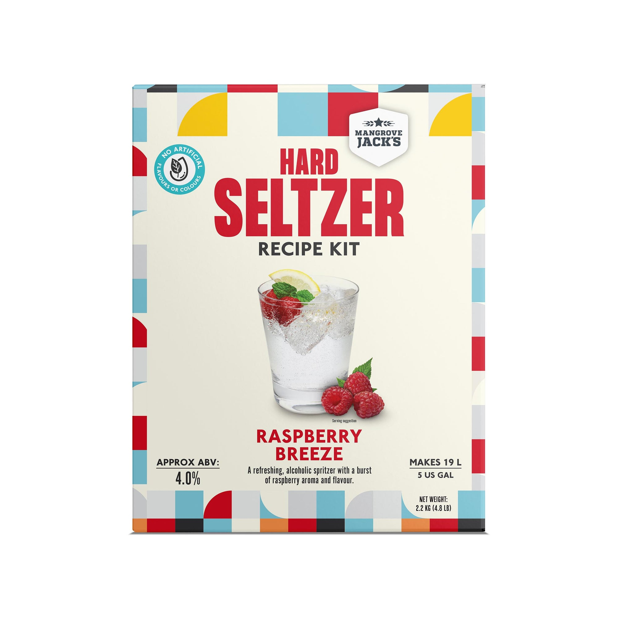 Hard Seltzer Recipe Kit - Raspberry Breeze
