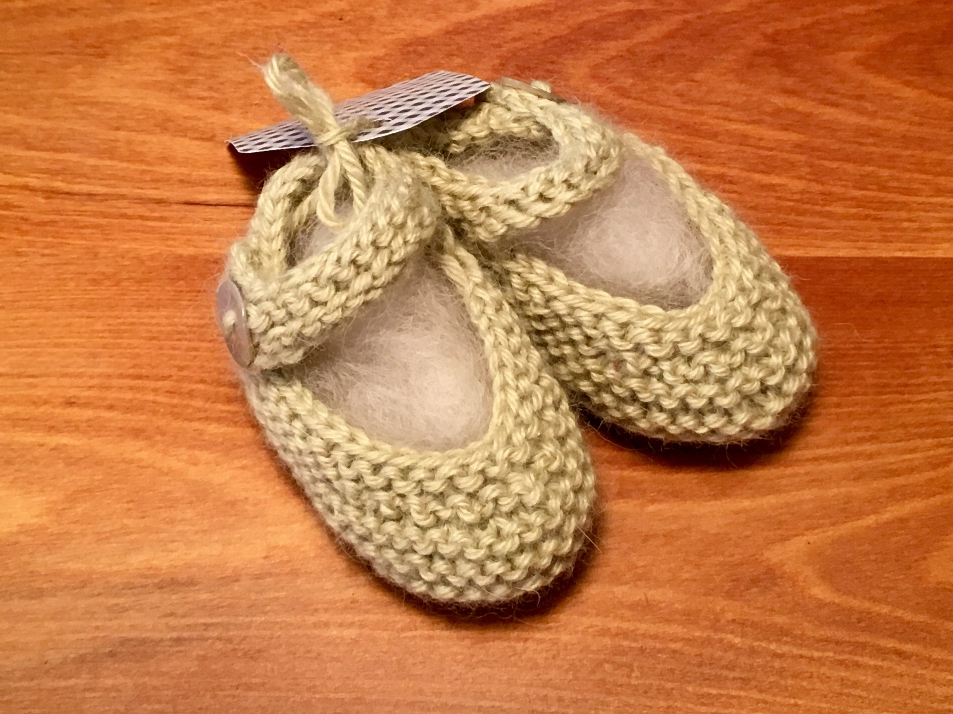 Alpaca Mary Jane Booties
