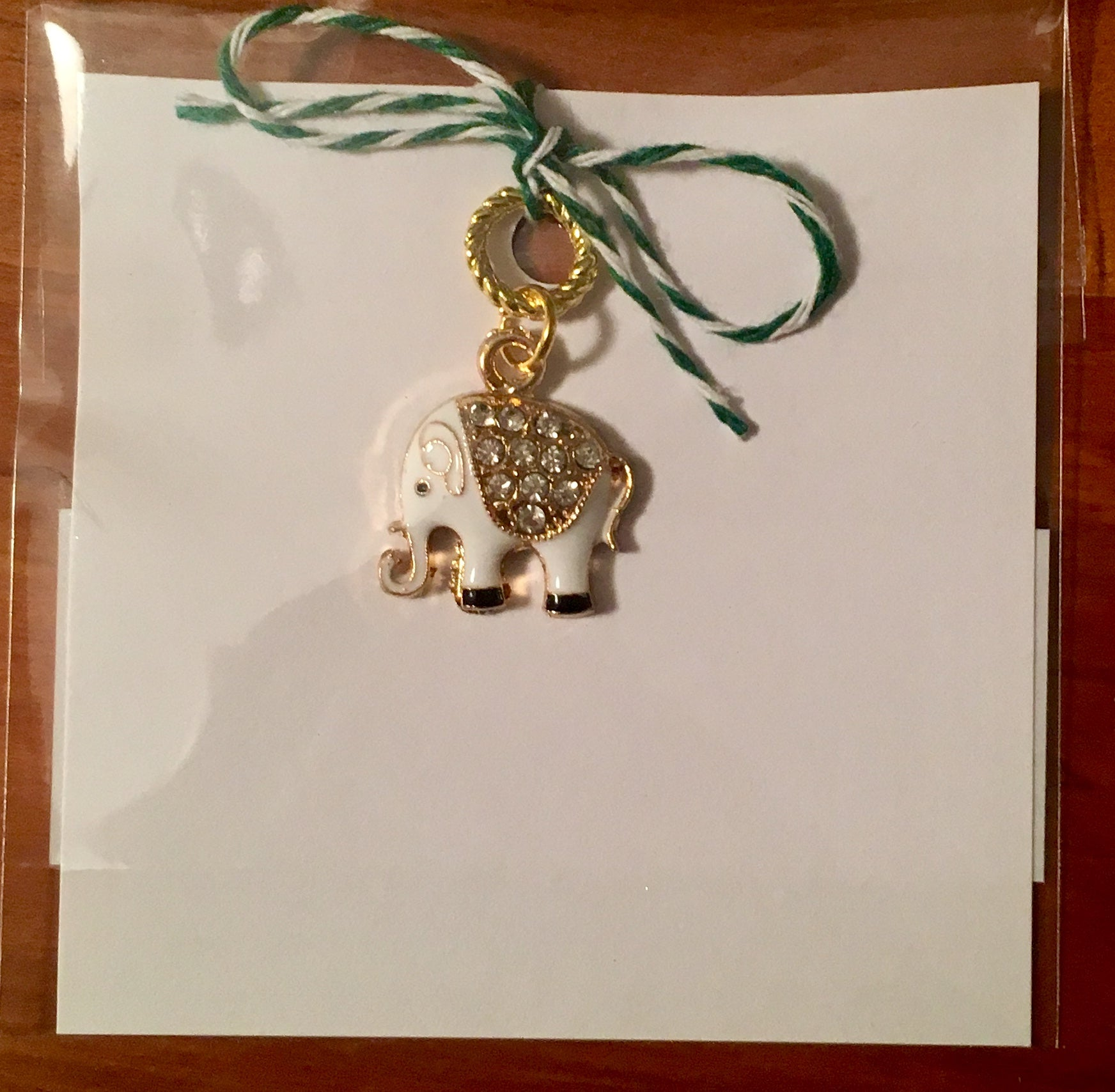 Elephant Single Stitch Marker