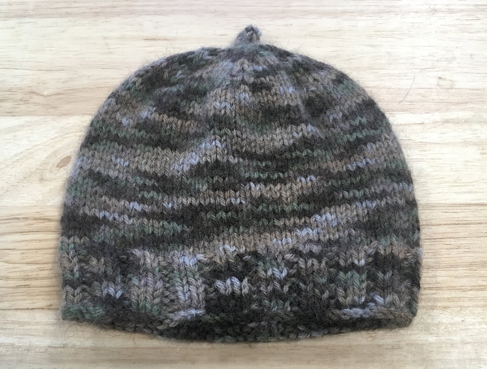 Brown, Khaki, Stone Baby Hat