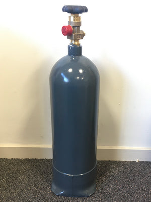 CO2 Cylinder - Reconditioned & Certified Steel 7 lb (3.2kg) Cylinder