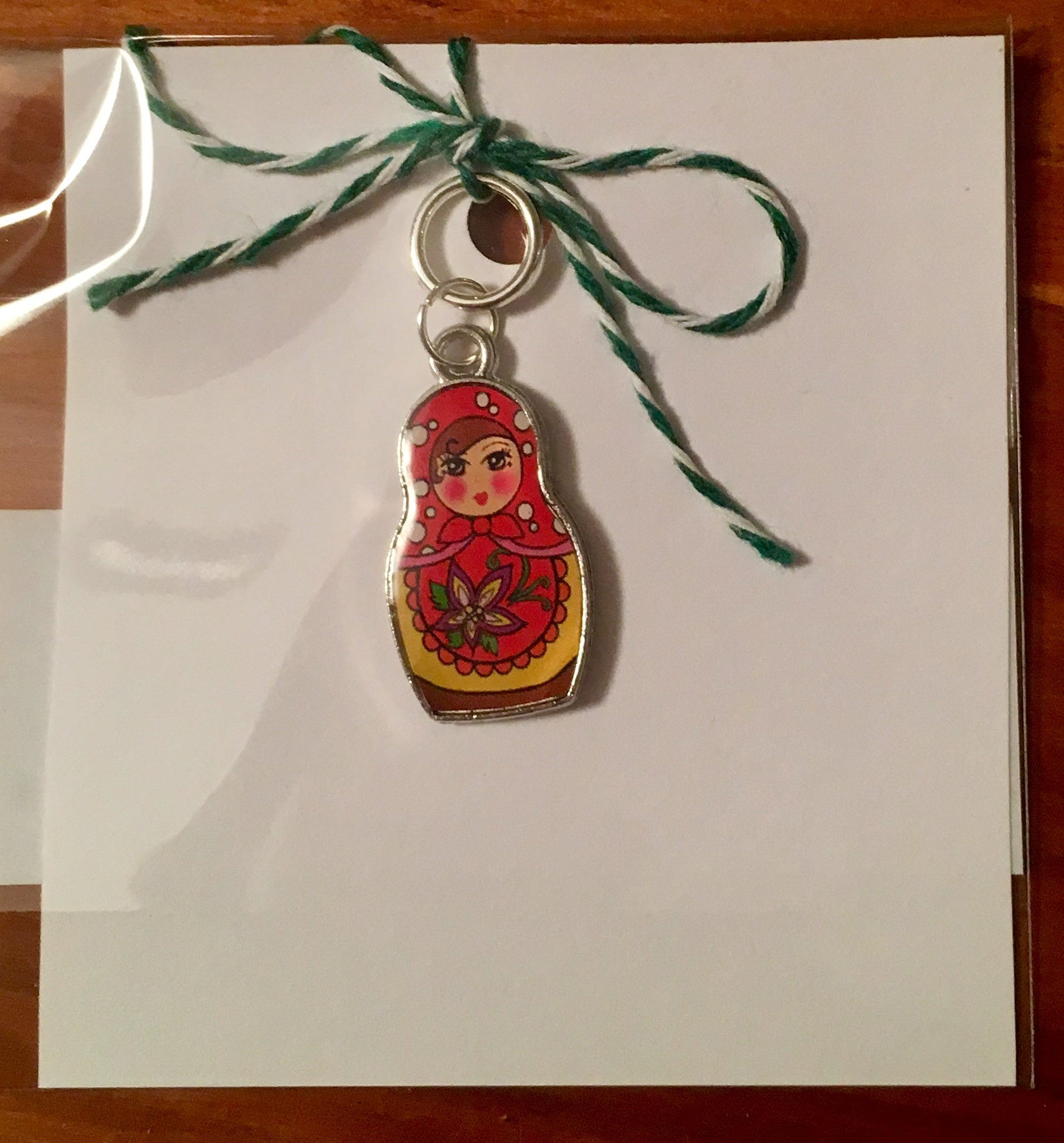 Russian Doll Single Stitch Marker