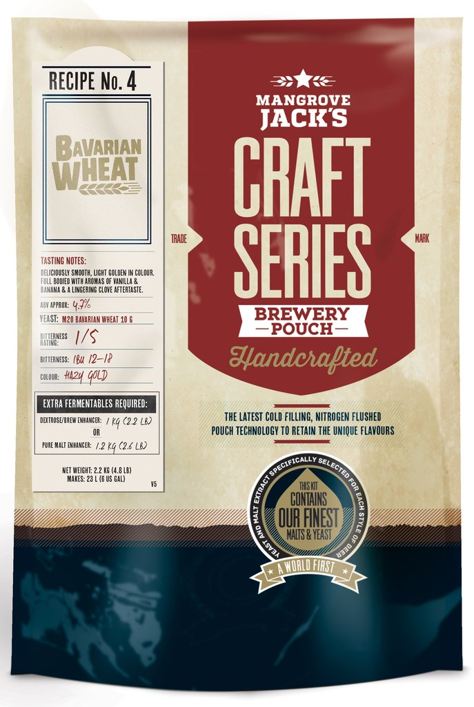 Mangrove Jack's Craft Series Bavarian Wheat - 2.2kg
