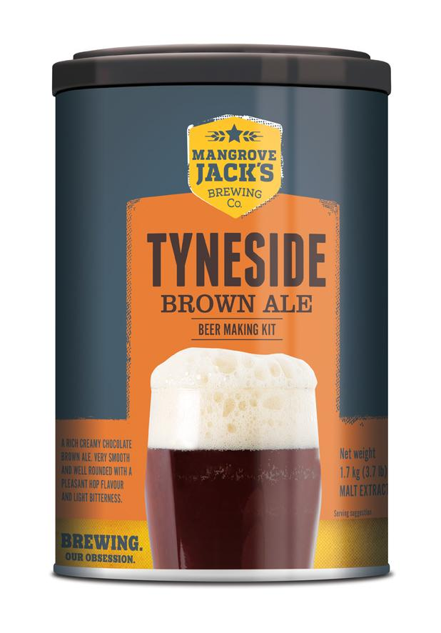 Mangrove Jack's International Tyneside Brown Ale 1.7kg