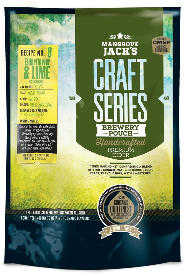 Mangrove Jack's Craft Series Elderflower & Lime Cider - 2.4kg