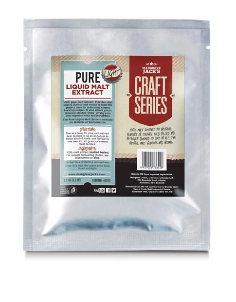 Mangrove Jack's  Pure Liquid Malt Extract - Light - 1.5kg