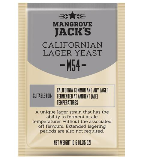 Mangrove Jacks CS Yeast M54 Californian Lager Yeast (10g)