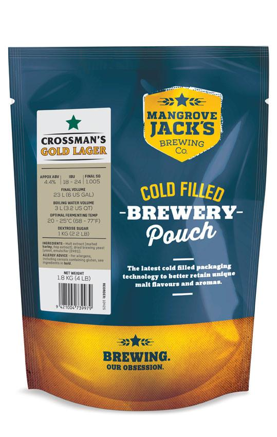MJ Traditional Series Crossmans Gold Lager Pouch - 1.8kg