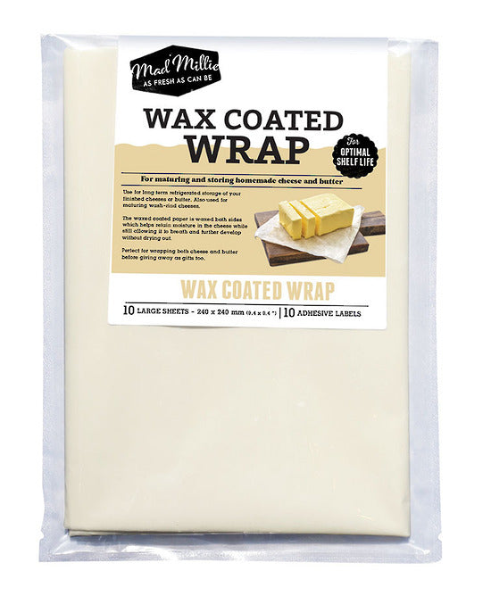 Mad Millie Wax Coated Paper