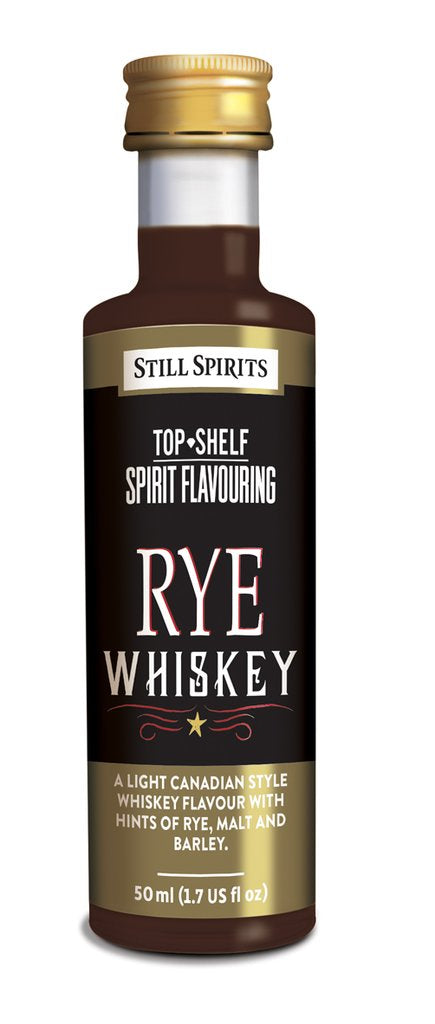 Still Spirits Top Shelf Rye Whiskey Spirit Flavouring