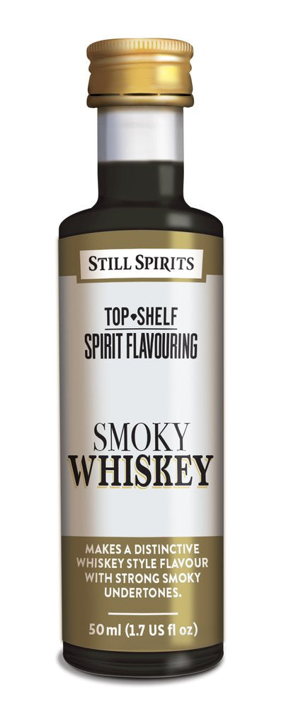 Still Spirits Top Shelf Smokey Whiskey Flavouring
