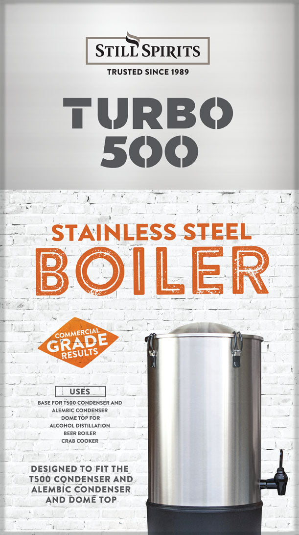 Still Spirits Turbo 500 Still - Stainless Steel