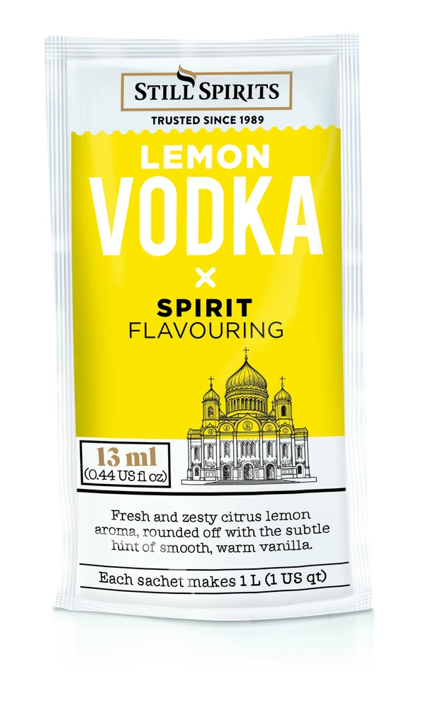Still Spirits Just Add Vodka Lemon Vodka Flavouring