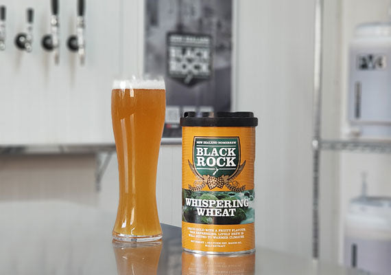 Black Rock Whispering Wheat Beer Kit 1.7kg