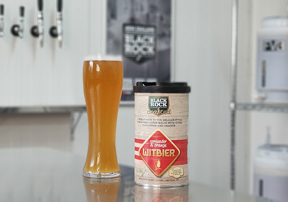 Black Rock Crafted Coriander & Orange Witbier Kit 1.7kg
