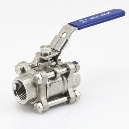 Three Piece Ball Valve - 1/2 inch