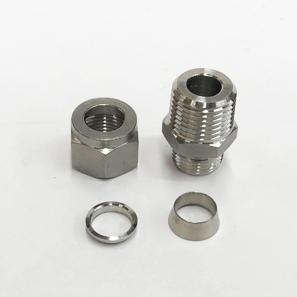 Compression Fitting - 12.7mm to 1/2 Inch BSP