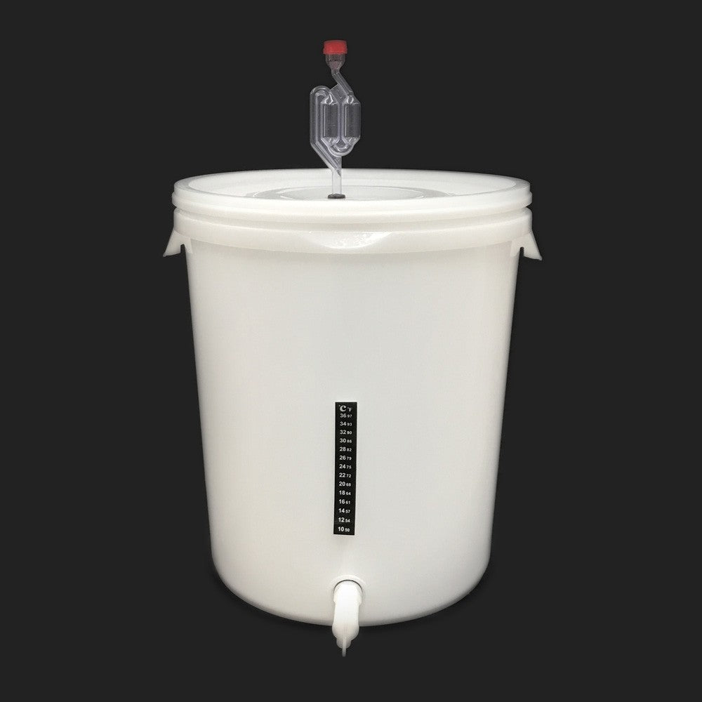 Plastic Bucket Fermenter Set - 30L