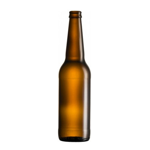 Long Neck Glass Beer Bottles - 500ml x 12