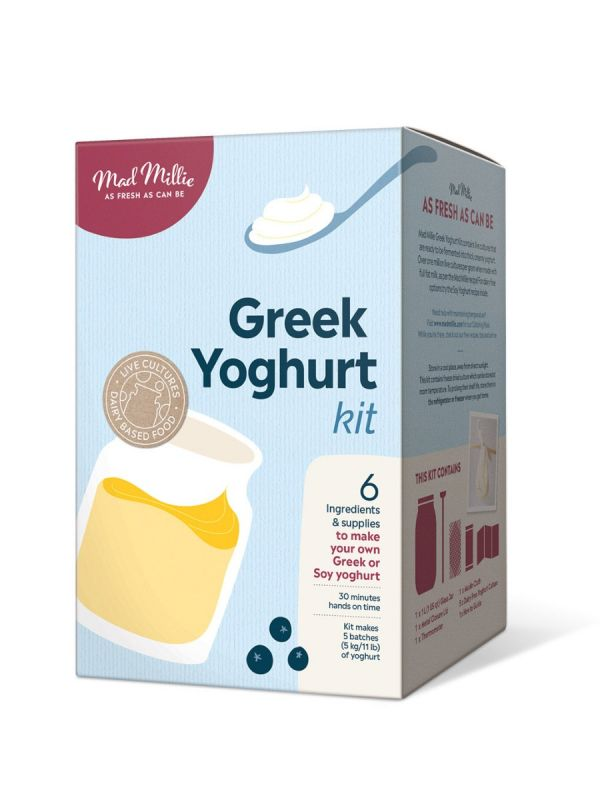 Mad Millie Greek Yoghurt Jar