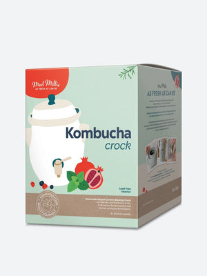Mad Millie Kombucha Crock/Fermenter - 4L