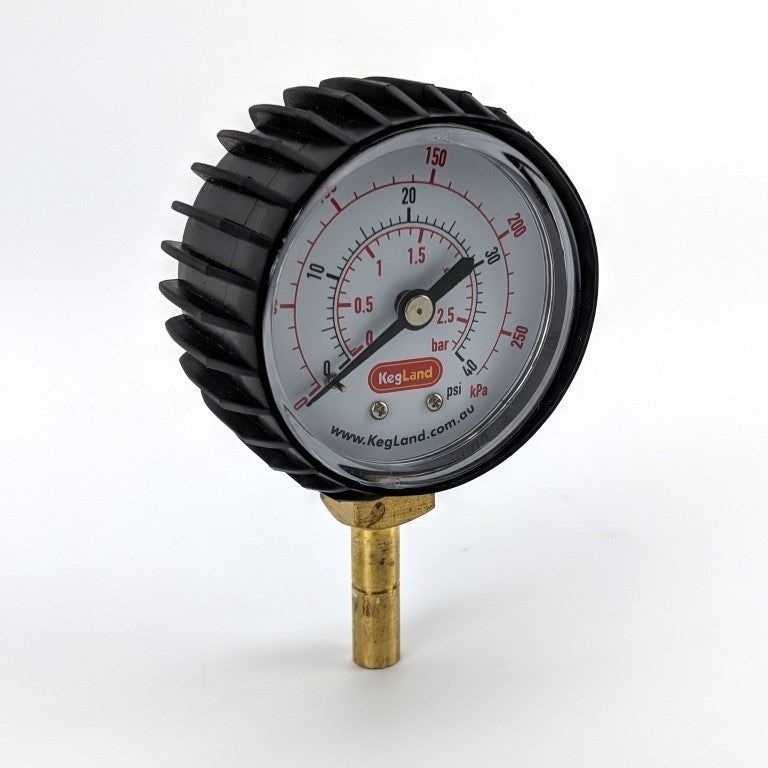 Push In Pressure Gauge - 8mm