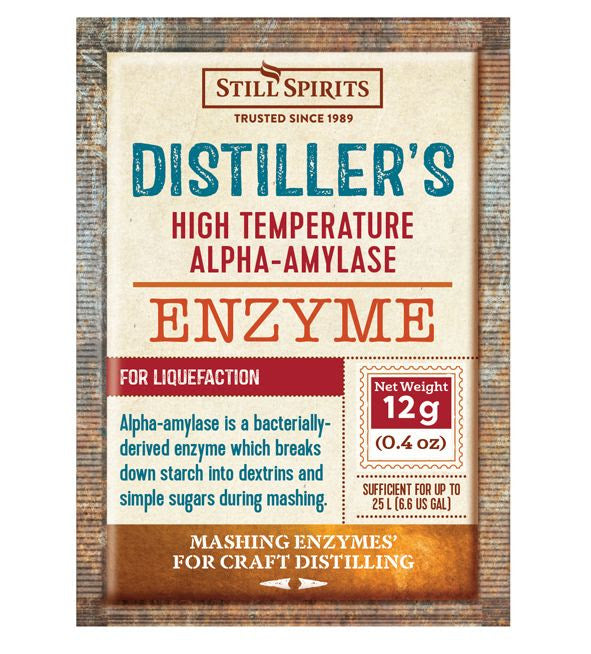 Still Spirits Craft Distiller's High Temperature Alpha Amylase Enzyme