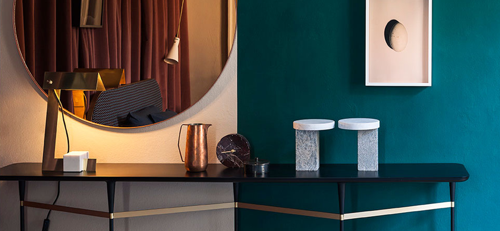 Jewel Tones And Graphic Murals In This Milan Apartment