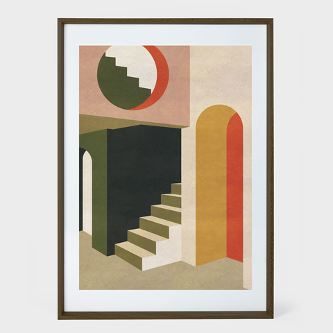 charlotte taylor staircase in tokyo print