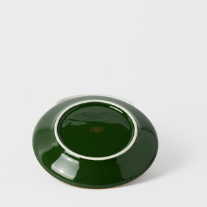 Forest Green Porcelain Cup & Saucer