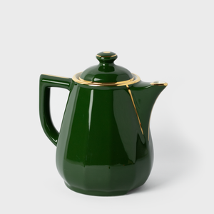 Apilco Green Porcelain Coffee Pot | Vespiary