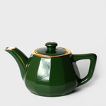 Forest Green Porcelain Teapot
