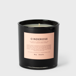 Boy Smells Cinderose Scented Beeswax Candle | Vespiary
