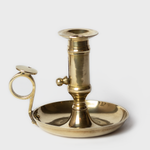 Brass Candlestick With Lever