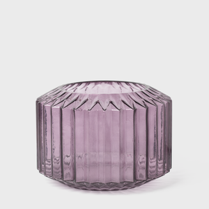 Vespiary Purple Glass Angular Bowl