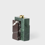 Vespiary Forest Green Marble Candle Holder AYTM