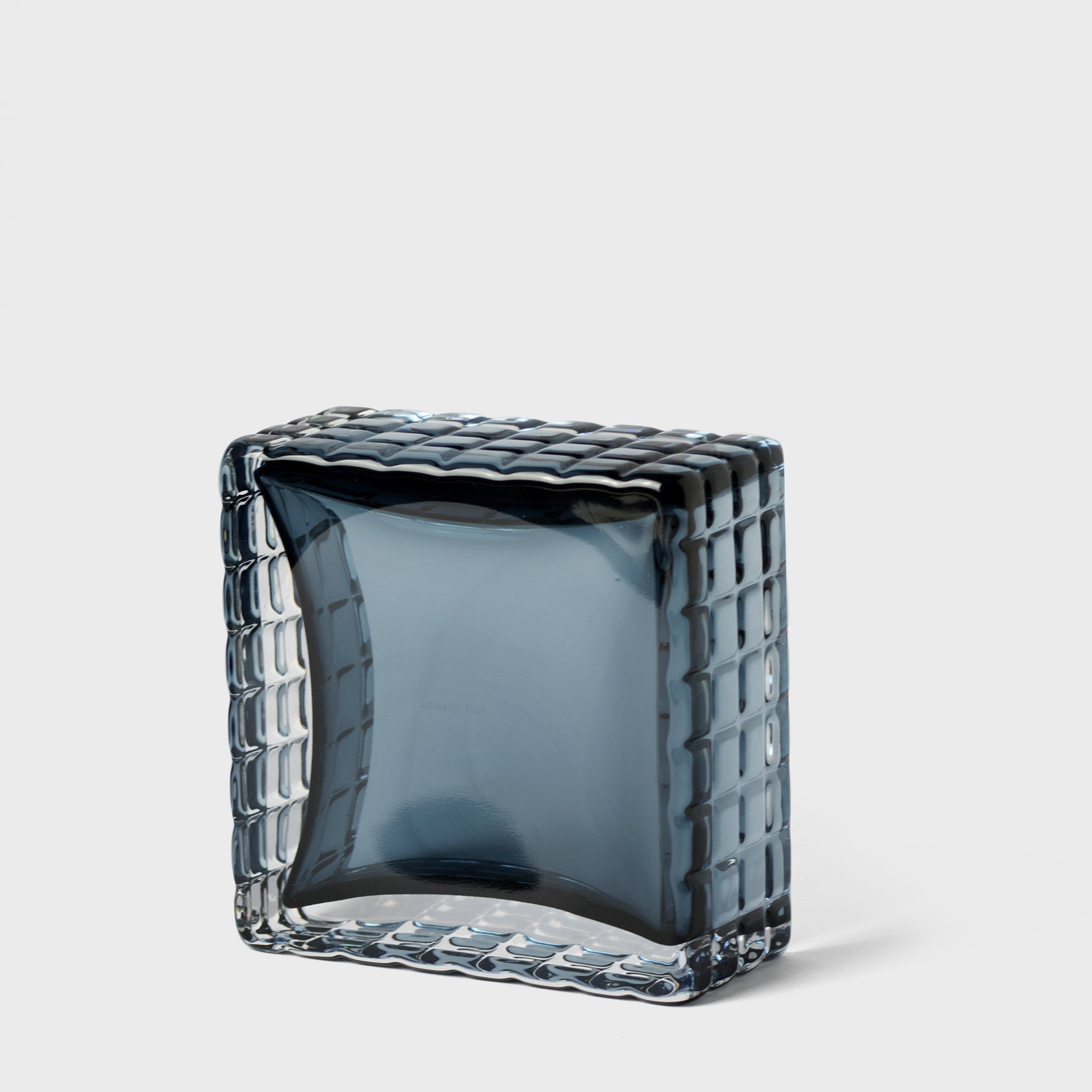 Blue Glass Dish