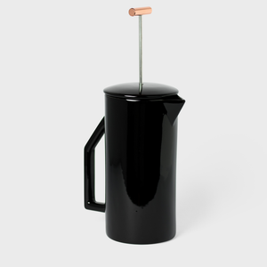 Black Ceramic French Press