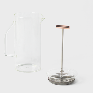 Clear Glass French Press