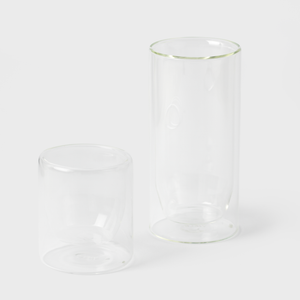 Clear Highball Glasses - Set of 2
