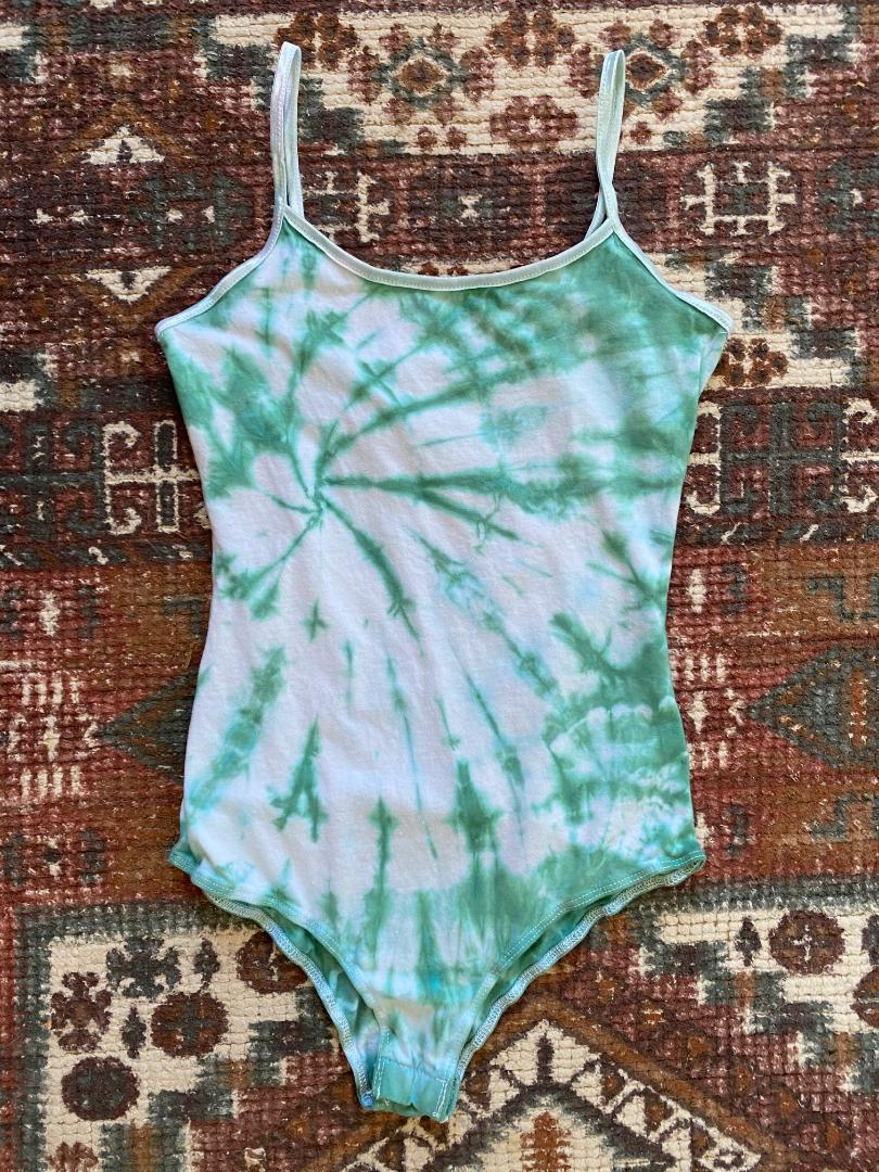 Sea Glass Tie Dyed Bodysuit