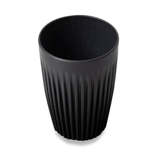 Huskee Reusable Cup Charcoal - Coffee and Cloth