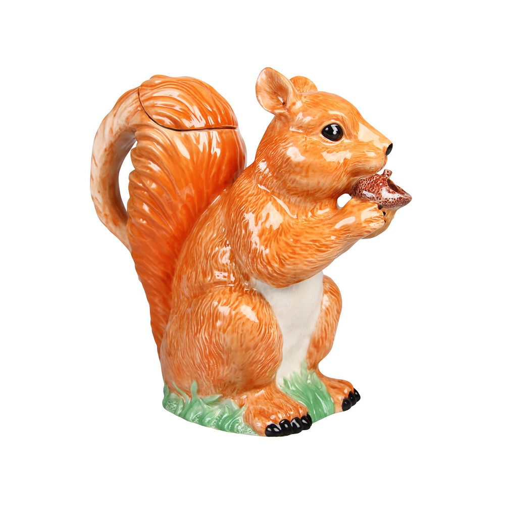 &Klevering squirrel jug in porcelain