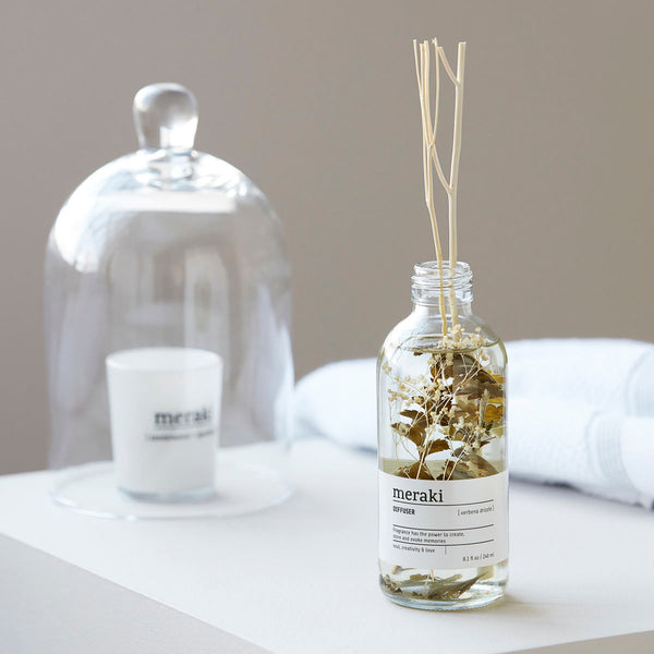 Meraki Verbena Drizzle Room Diffuser - Coffee and Cloth