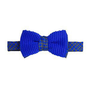 Load image into Gallery viewer, 40 colori silk blue bow tie