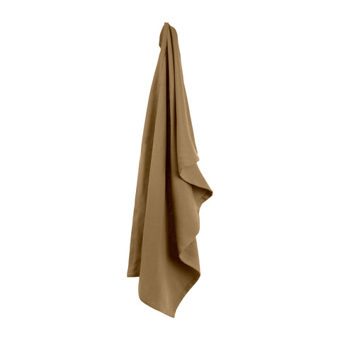 The Organic Company Khaki Kitchen Towel - Coffee and Cloth