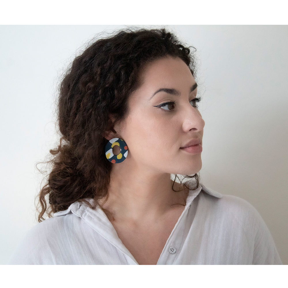 Azadeh Multicolour Earrings Truth