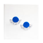 Azadeh Cobalt Earrings Maya